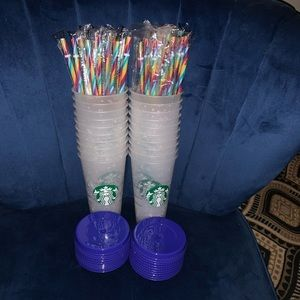 Starbucks Lot of 20, Confetti Color Changing Cups